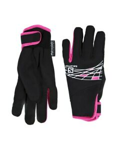 Salomon Womens Accessories Thermo Winter Gloves Solid Black Size XS