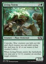 MTG Magic M15 FOIL - Living Totem/Totem vivant, English/VO