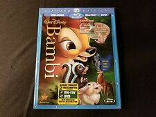 Bambi Diamond Edition Blu ray+DVD W/Slipcover Brand New Disney