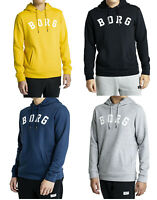 Bjorn Borg Navy Grey Black Yellow Cotton Hoodie Sweatshirt Jumper top M L XL 2XL