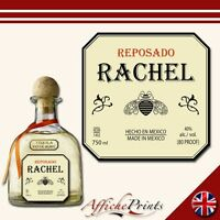 L21 Personalised Reposado Tequila Bottle Label - Perfect Gift Any Occasion!
