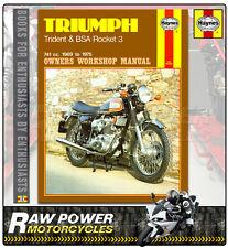 Triumph A75 Rocket (BSA) (741cc) 1969 - 1972 Haynes Manual (0136)
