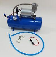 Compressore d'aria Gonfiaggio pneumatico 150psi DC 12V con serbatoio 6 L per