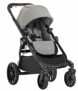 Baby Jogger City Select Lux Compact Fold All Terrain Stroller Slate Open Box