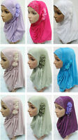 Women Fashion Muslim Ramadan Hot Drill Hijab Islamic Arab Headwear Amira Shawls