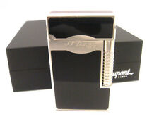 S.T. Dupont Ligne 2 Lighter Le Grand Black Lacquer & Palladium (023010)