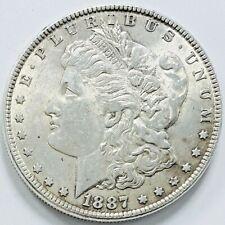 1887 Morgan Silver $1 Dollar
