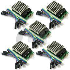 5pcs MAX7219 Dot Matrix Module Cascade Control Display Module DIY kit