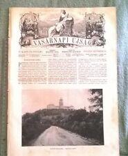 1907 Pannonhalma VASARNAPI UJSAG magazine Hungary gróf Vay Ali Asghar Khan