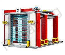 LEGO 60110 Città Caserma: Fire Truck's Garage solo (Dividi da 60110)