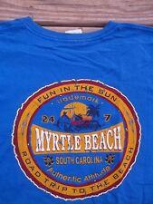 MYRTLE BEACH South Carolina ROAD TRIP Pocket T-Shirt XL
