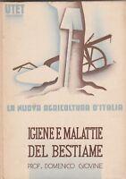 D. Giovine Igiene e malattie del bestiame UTET 1936