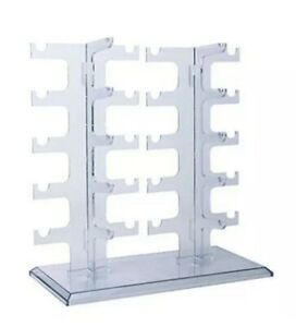 Eyeglass Sunglasses Storage Display Stand Holder Organizer Case for 10 Glasses