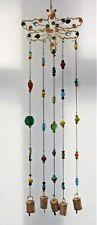 Carillón de viento * joyas libélula con Colgante Campanas & Multi Color Perlas De Vidrio