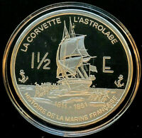 2004 Republique Française • 1¹/² Euro Silver Proof Coin • 1 oz .999 Fine Silver