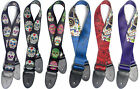 Guitar Strap - Stagg Mexican Skulls
