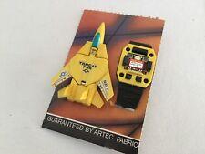 Transformers vintage ROBO Watch Wrist TOMCAT F14 JET yellow