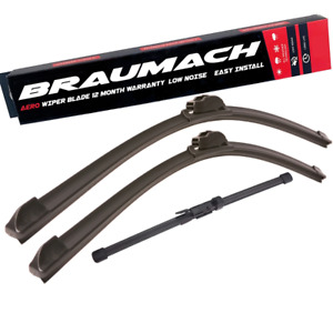 Front Rear Wiper Blades for Mercedes Benz GLA-Class X156 SUV GLA 45 AMG 4-matic