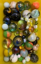 Vintage 1980's Marble Collection Big & Small Various Colours RARE