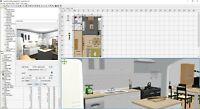 Sweet home 3D CAD designer Design App Software Floor Planner studio for windows