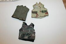 """1/6 scale mix vest  lot military for use with 12"""" inch figure 1/6th"""