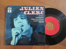"""Julien Clerc – Le Delta - French 7"""" EP 1969"""