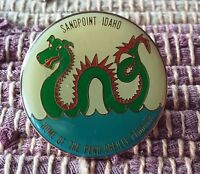 Sandpoint Idaho Home of the Pend Oreille Paddler pin