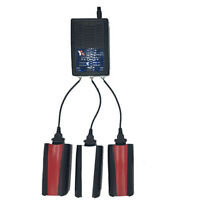 3 In 1 Battery Balance Charger For RC Parrot Bebop 2 Drone Quadcopter US Plug