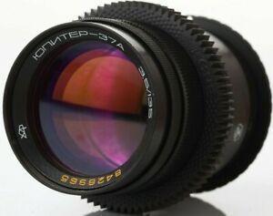 Anamorphic flare & Bokeh Lens 135 mm F3.5 Jupiter 37a Cine CANON EF mount Mod