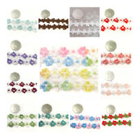 15mm FLORAL DESIGN SEWING TRIMMING / EDGING *21 STYLES*  DECORATIVE TRIM UK