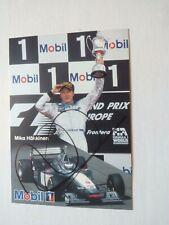 Formel 1, Mika Häkkinen, photo signed, Mika Hakkinen Autogramm, Original