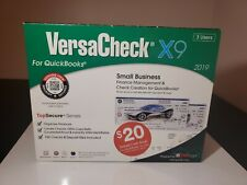 VersaCheck X9 2019 For QuickBooks - 3 Users Small Business Edition - SEALED