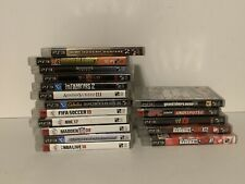 17 Playstation 3 PS3 Game Lot Bundle (Infamous 2, Diablo 3, GTA 5, COD MW 2)