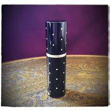 Parfum TASCHENZERSTÄUBER Atomizer schwarz 10 ml mit silberfarbenen Punkten