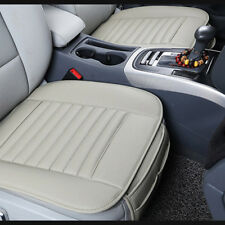 Durable Gray Car Auto PU Leather Seat Cover Cushion Pad Bamboo Breathable