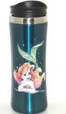 Disney Ariel Little Mermaid Travel Coffee Cup Mug Stainless Steel Theme Parks