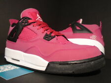 NIKE AIR JORDAN IV 4 RETRO GS VOLTAGE CHERRY PINK WHITE BLACK OG 487724-601 6Y 6