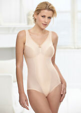 GLAMORISE SHAPER 36B 36 B Bodysuit SUPPORT COMFORT Shapewear Bra Nude NEW $60