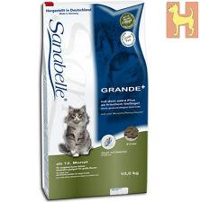 10 kg Sanabelle GRANDE - Katzenfutter für ausgewachsene Katzen großer Rassen