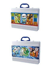 Pokemon Oshawott Snivy Tepig Lunch Box Metal Case Storage Anime Art Collection
