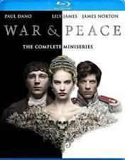 War  Peace (Blu-ray Disc, 2016, 2-Disc Set) NEW/SEALED