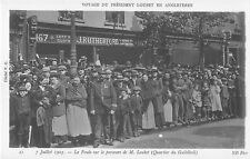 More details for b91732  the visit of presdent loubet in england military london uk