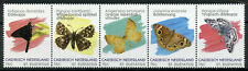 St Eustatius Caribbean Netherlands Butterflies Stamps 2020 MNH Insects 5v Strip