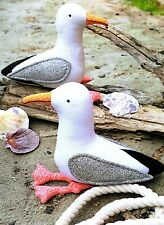 Gary & Glen Seagulls - Sewing Craft PATTERN -  Seagull Gull Gulls Bird