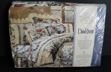 DAN RIVER Vintage Full 4 Pc Sheet Set Floral New Made In USA