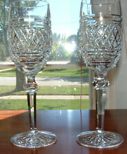 "2 WATERFORD CASTLETOWN CHAMPAGNE FLUTE / 8 1/8"" / MINT   LOT 15"