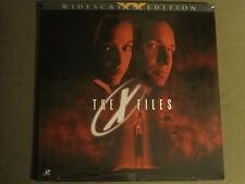 THE X-FILES (1998) LASERDISC WIDESCREEN DAVID DUCHOVNY GILLIAN ANDERSON SEALED!