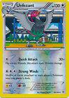 Unfezant Uncommon Reverse Holo Pokemon Card XY Roaring Skies 80/108