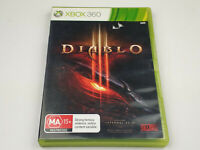 Mint Disc Xbox 360 Diablo III 3 Inc MANUAL Free Postage
