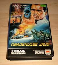 VHS-caccia spietata-Fred Dryer-action film-Video Film-VIDEOCASSETTA